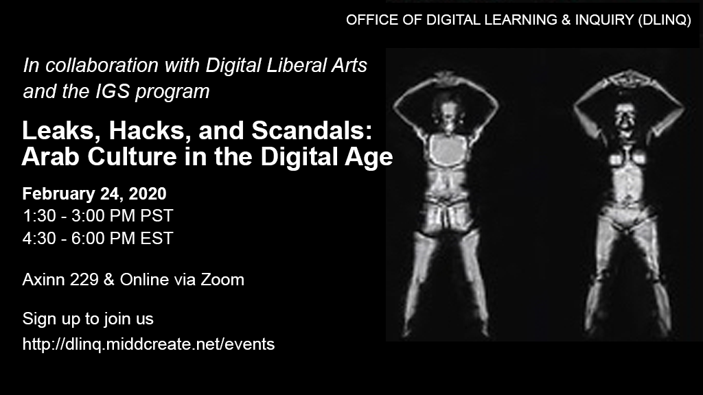 Leaks, Hacks, and Scandals Event