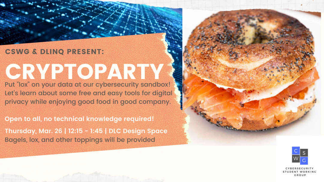 March 26 CryptoParty