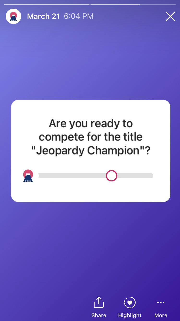 """Are you ready to compete for the title """"Jeopardy Champion""""?"""